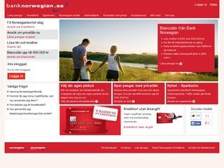 Grafik från Bank Norwegian
