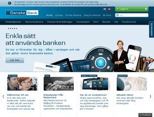 Grafik från Danske bank