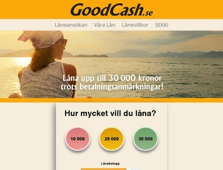 Grafik från Goodcash