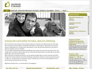 Grafik från Human Finans