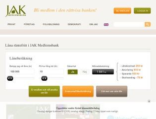 Grafik från JAK Medlemsbank
