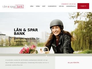 Grafik från Lån & Spar Bank