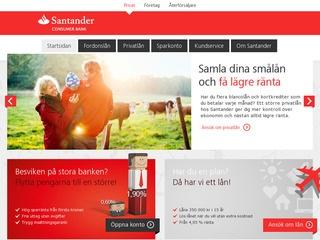 Grafik från Santander